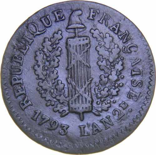 Майнц 1 соль 1793 года Французская республика
