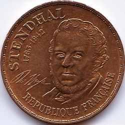 10 франков 1983 Стендаль