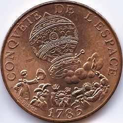 10 франков 1983 Франция