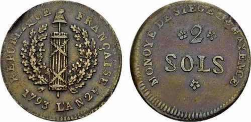 2 соля 1793 года Майнц