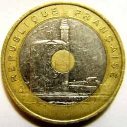 20 франков 1993 Средиземноморские игры