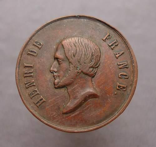 Медаль Анри 5 Франция