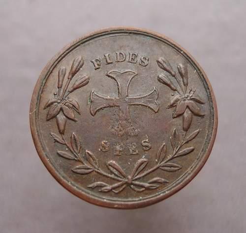 Fides Spes Медаль Анри 5 французского короля