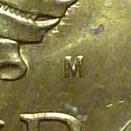 М знак Московского монетного двора