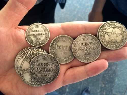 Фальшивые царские монеты