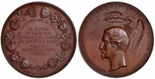 Медаль Наполеон III президент Французской республики
