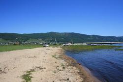 Фото пляжа в районе Култука