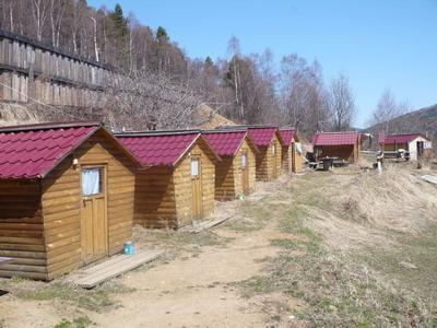 Фото гостиницы Домики Туристов в Листвянке