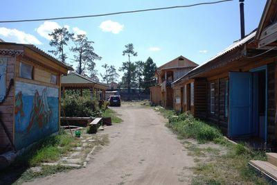 Байкальский прибой база отдыха на Ольхоне