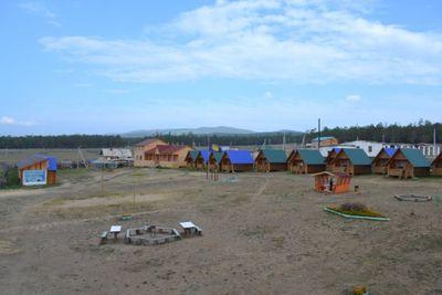 Озеро Байкал. База отдыха Ольхон