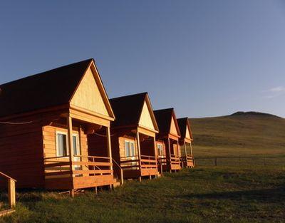 Присталь Ольхона база отдыха домики