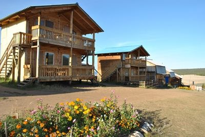 База отдыха Солнечная на острове Ольхон