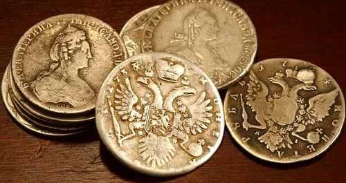 Поддельные редкие монеты России