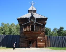 Фотографии музея деревянного зодчества Тальцы